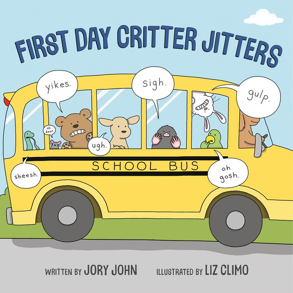 First Day Critter Jitters Cover