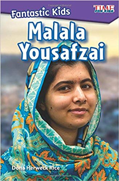 Fantastic Kids: Malala Yousafzai (Level 5) ( Exploring Reading ) Cover