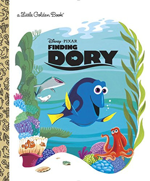 Finding Dory Little Golden Book (Disney/Pixar Finding Dory) Cover