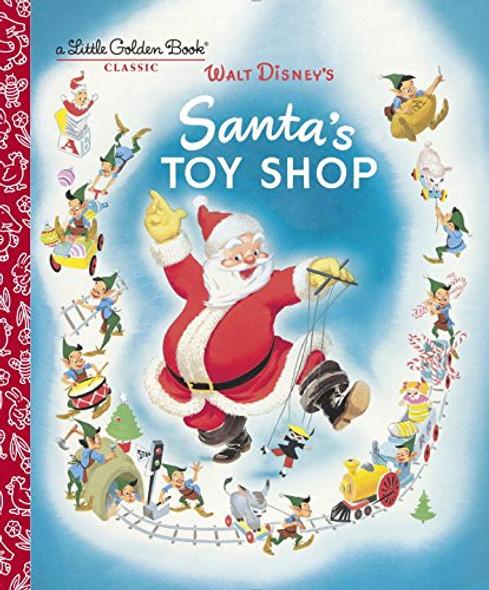 Santa's Toy Shop (Disney) ( Little Golden Book ) Cover