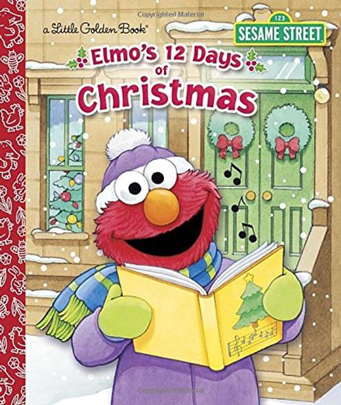 Elmo's 12 Days of Christmas ( Little Golden Book ) Cover
