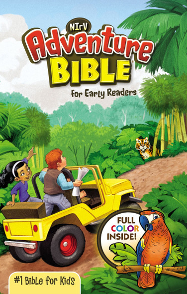 Adventure Bible for Early Readers-NIRV Cover