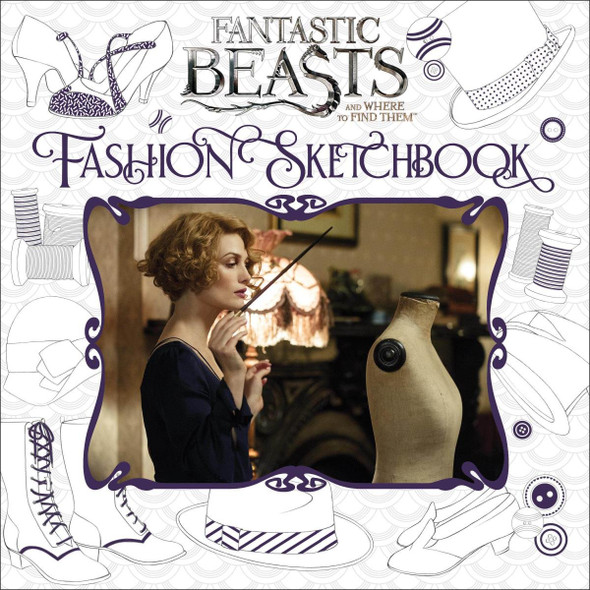 Fantastic Beasts and Where to Find Them: Fashion Sketchbook Cover