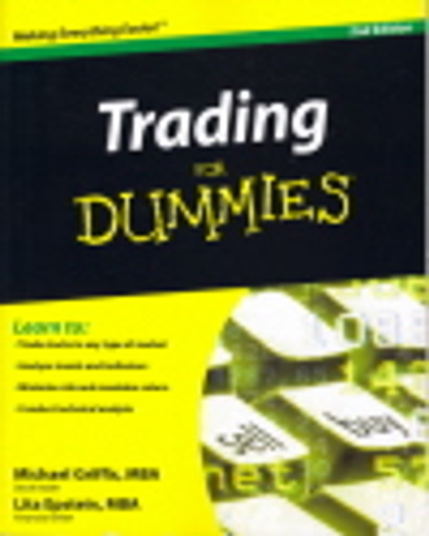 Trading for Dummies Cover