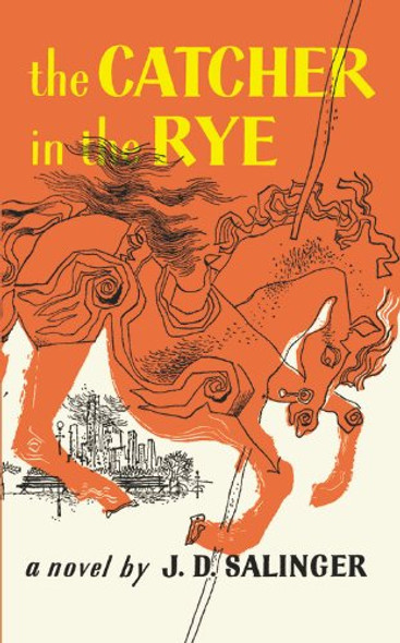 The Catcher In The Rye (Turtleback School & Library Binding Edition) Cover