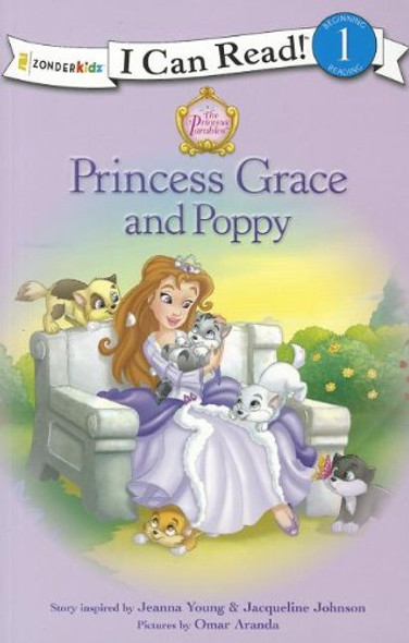 I Can Read!: Princess Grace and Poppy Cover