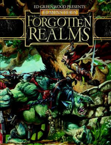Ed Greenwood Presents Elminster's Forgotten Realms: A Dungeons and Dragons Supplement Cover