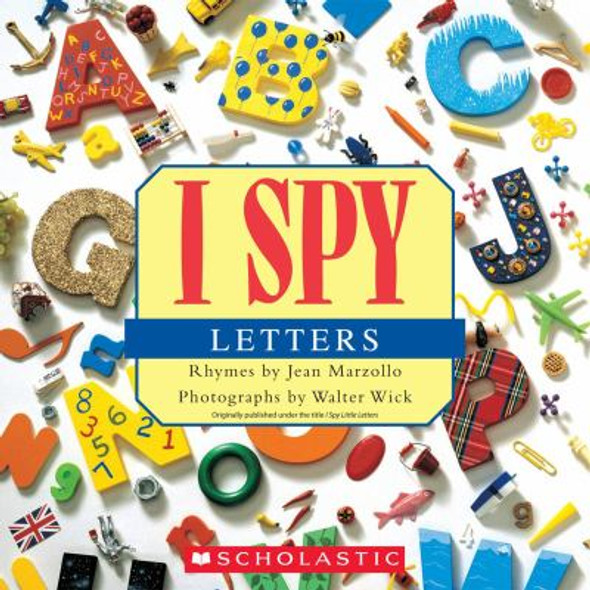 I Spy Letters Cover
