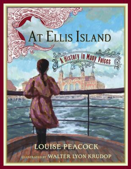 At Ellis Island: A History in Many Voices Cover