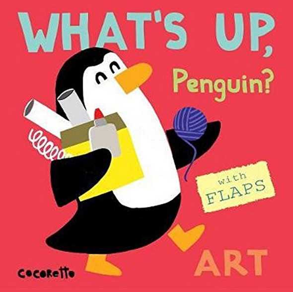 What's Up Penguin?: Art (What's Up?) Cover