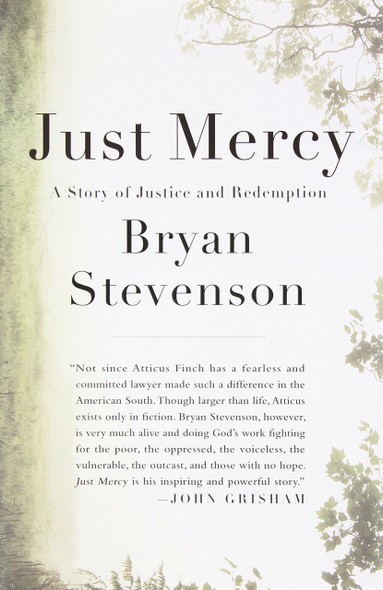 Just Mercy: A Story of Justice and Redemption Cover