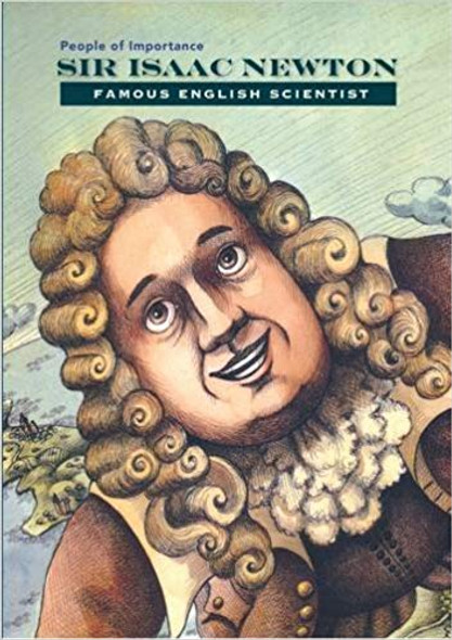 Sir Isaac Newton: Famous English Scientist ( People of Importance ) Cover