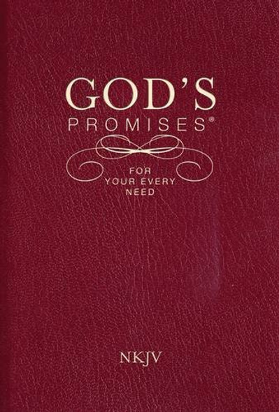 God's Promises for Your Every Need, NKJV Cover