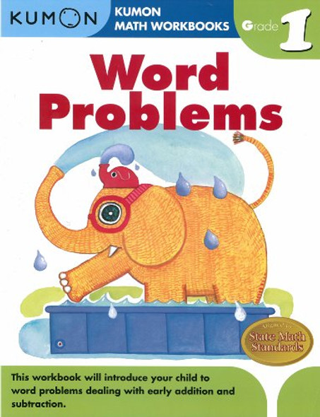 Word Problems, Grade 1 ( Kumon Math Workbooks ) Cover
