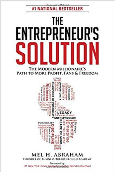 The Entrepreneur's Solution: The Modern Millionaire's Path to More Profit, Fans & Freedom Cover