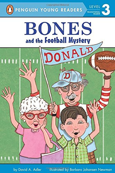Bones and the Football Mystery Cover