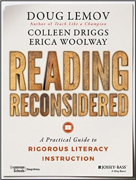 Reading Reconsidered: A Practical Guide to Rigorous Literacy Instruction Cover