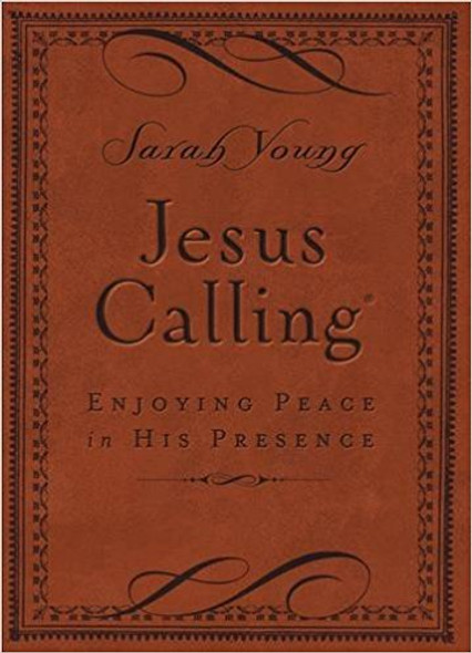 Jesus Calling: Enjoying Peace in His Presence (Deluxe) Cover