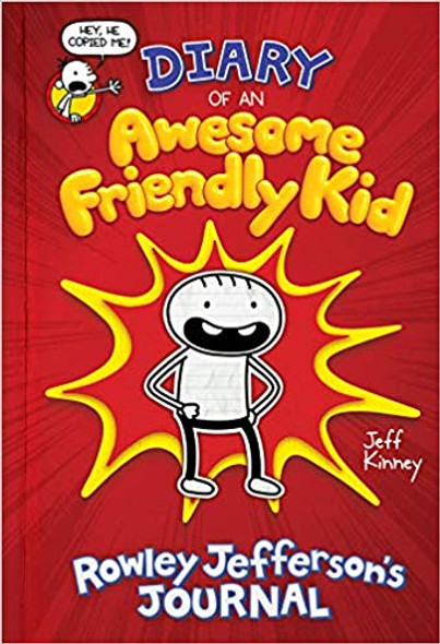 Diary of an Awesome Friendly Kid: Rowley Jefferson's Journal Cover