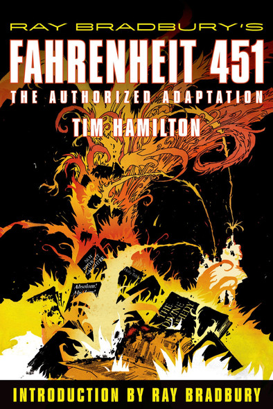 Ray Bradbury's Fahrenheit 451: The Authorized Adaptation Cover