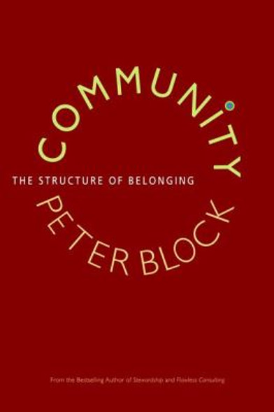 Community: The Structure of Belonging Cover