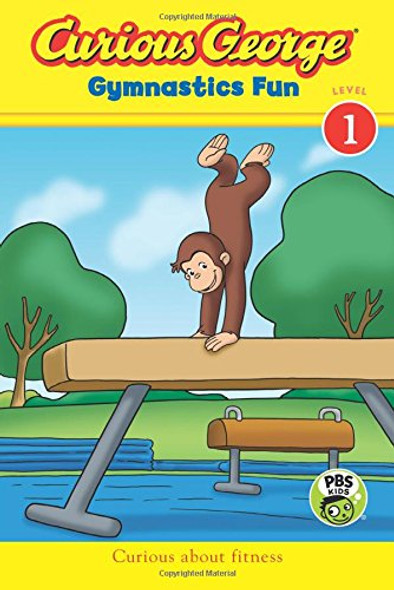 Curious George Gymnastics Fun ( Curious George: Level 1 ) Cover