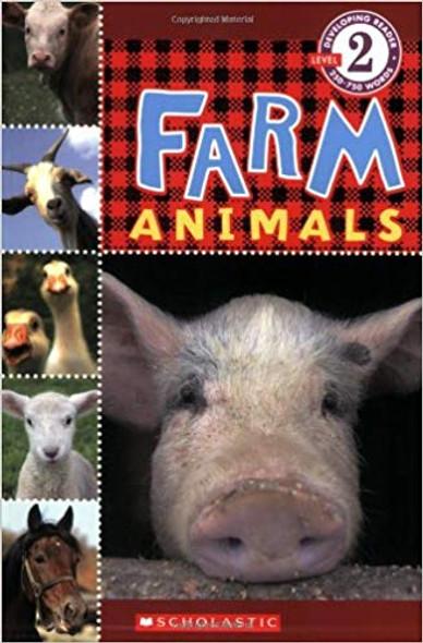 Farm Animals ( Scholastic Reader: Level 2 ) Cover
