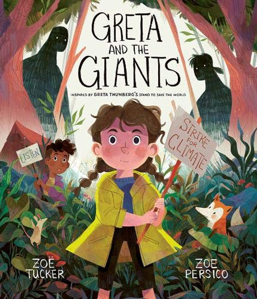 Greta and the Giants: Inspired by Greta Thunberg's Stand to Save the World Cover