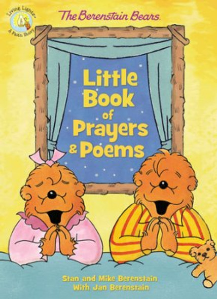 The Berenstain Bears Little Book Of Prayers And Poems Cover