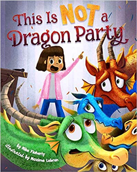 This Is Not a Dragon Party Cover