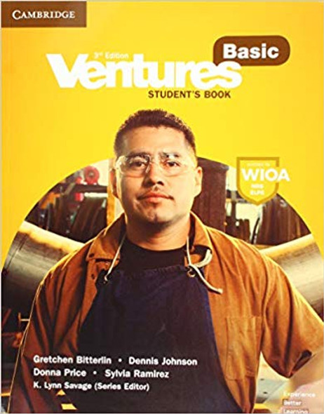 Ventures Basic Student's Book (Revised) (Ventures) (3RD ed.) Cover