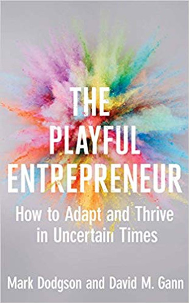 The Playful Entrepreneur: How to Adapt and Thrive in Uncertain Times Cover