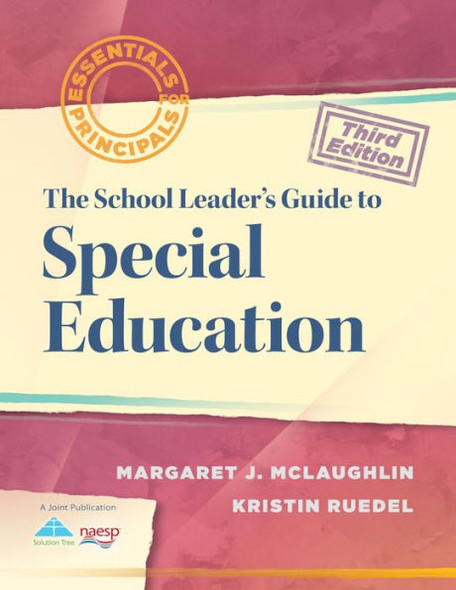The School Leader's Guide to Special Education (Essentials for Principals) Cover