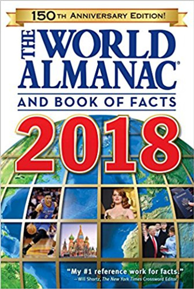The World Almanac and Book of Facts 2018 (World Almanac and Book of Facts) Cover