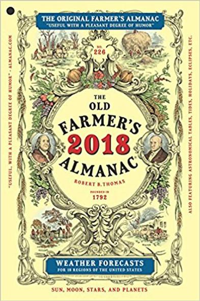 The Old Farmer's Almanac 2018 Cover