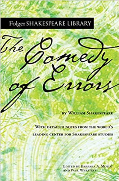 The Comedy of Errors (Folger Shakespeare Library) Cover