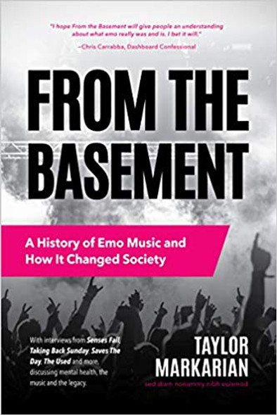 From the Basement: A History of Emo Music and How It Changed Society Cover