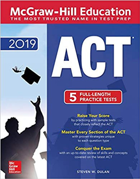 McGraw-Hill ACT 2019 Edition Cover