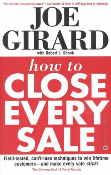 How to Close Every Sale Cover