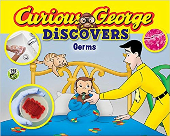 Curious George Discovers Germs (Science Storybook) ( Curious George ) Cover