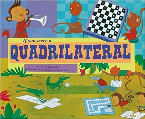 If You Were a Quadrilateral ( Math Fun ) Cover