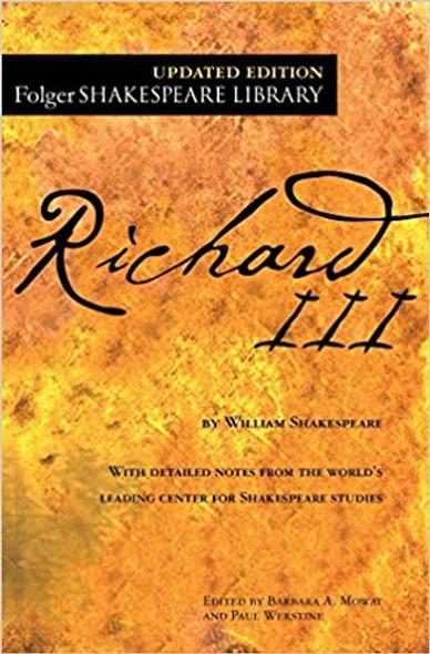 Richard III ( Folger Shakespeare Library ) Cover