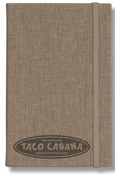 Linen Banded Pocket Journal
