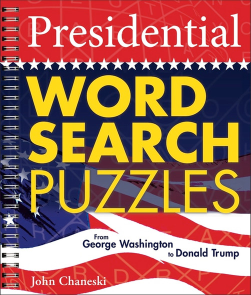 Presidential Word Search Puzzles: From George Washington to Donald Trump (Revised) Cover