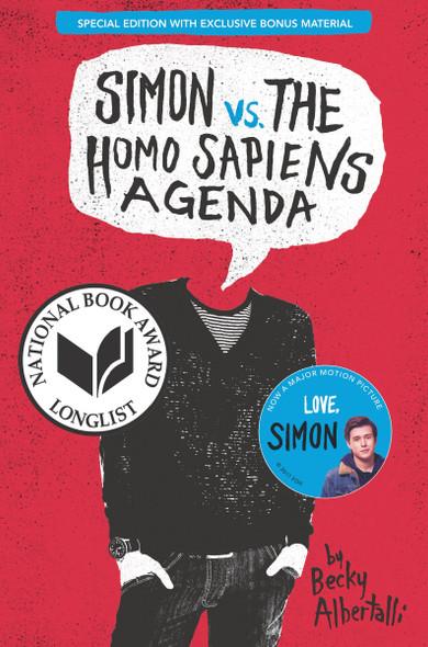 Simon vs. the Homo Sapiens Agenda Special Edition Cover