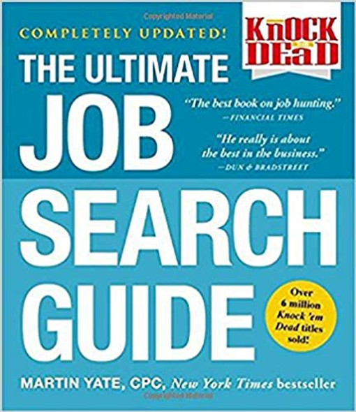 The Ultimate Job Search Guide (Knock 'em Dead) Cover