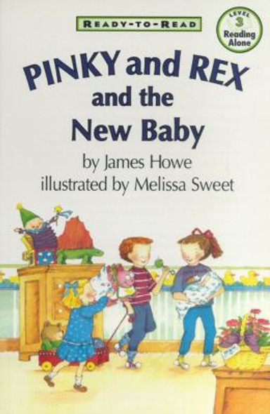 Pinky and Rex and the New Baby Cover