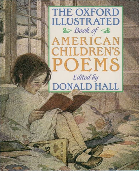 The Oxford Illustrated Book of American Children's Poems Cover