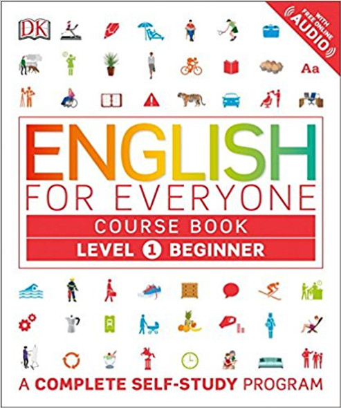 English for Everyone: Level 1: Beginner, Course Book ( English for Everyone ) Cover
