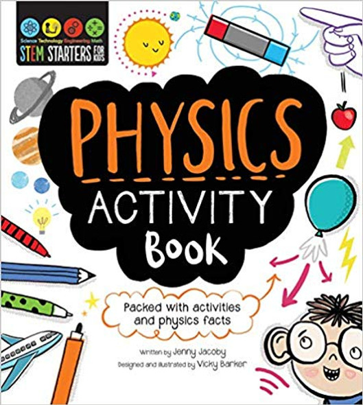 STEM Starters for Kids Physics Activity Book Cover
